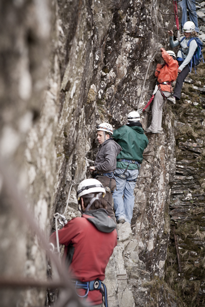 Via Ferrata Extreme By Glaramara Lake District Activities